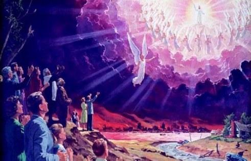 Oprindelsen og arten af doktrinen om Kristus parousia som en usynlig nærvær